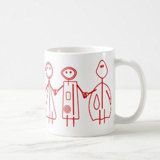 Children Red Design Customizable Mug