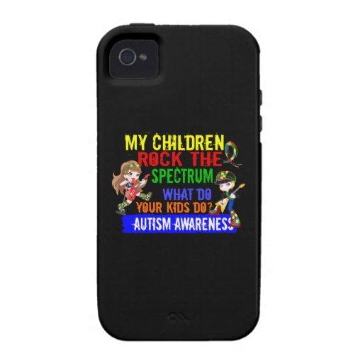 Children Rock The Spectrum Autism Case-Mate iPhone 4 Cover
