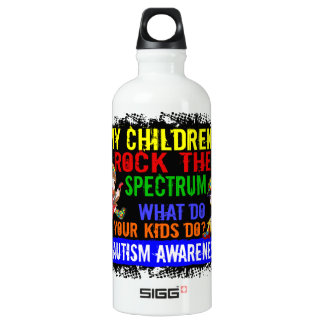 Children Rock The Spectrum Autism Water Bottle