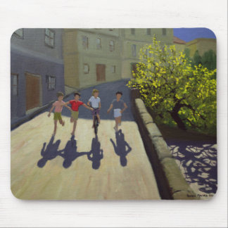 Children Running Lesbos 1999 Mouse Pad