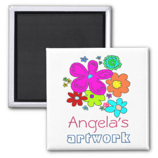 Children s Artwork Magnet