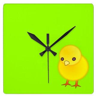 Children´s Clock Little Yellow Chick