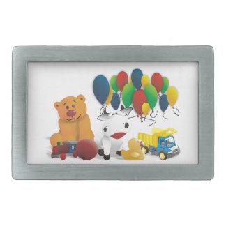 Children s toy rectangular belt buckle