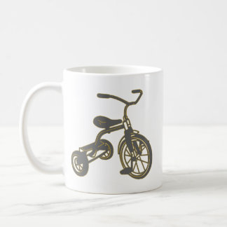 Children's Tricycle Graphic Coffee Mug