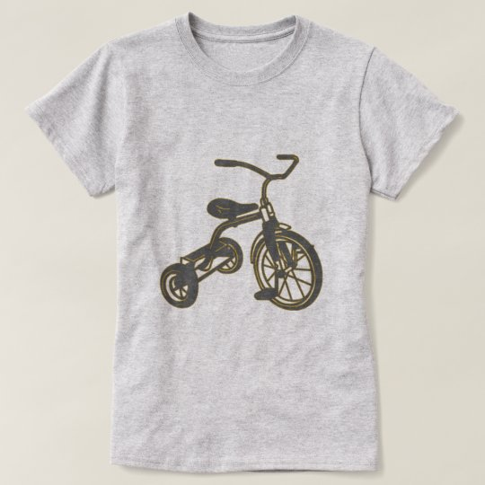 Children's Tricycle Graphic T-Shirt