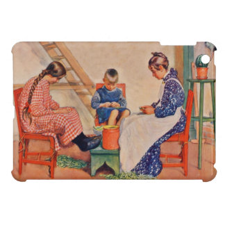 Children Shelling Peas Cover For The iPad Mini