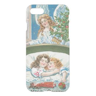 Children Sleeping Angel Christmas Tree Window iPhone 8/7 Case