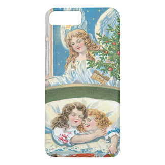 Children Sleeping Angel Christmas Tree Window iPhone 8 Plus/7 Plus Case