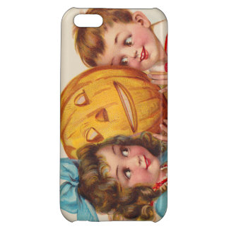 Children Smiling Jack O' Lantern Pumpkin Case For iPhone 5C