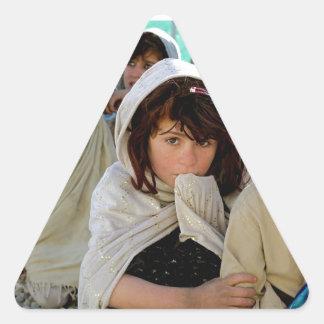 Children Triangle Sticker