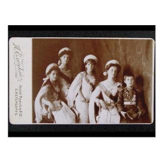 CHILDREN TSAR - OTMA & Alexis Romanov Russia #093 Postcard