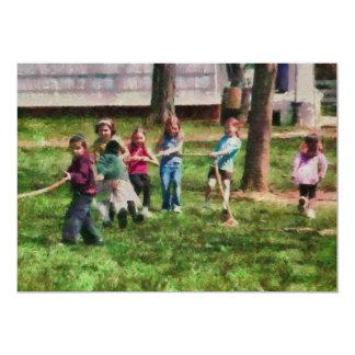 Children - Tug of War Card