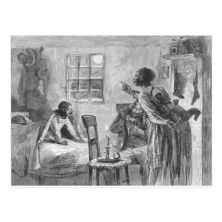 Children Wide Awake on Christmas Eve Postcard