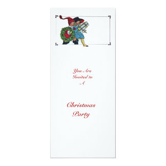 CHILDREN WITH CHRISTMAS GIFTS - CARD