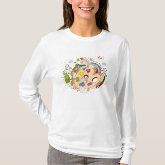 Children with paintbrushes T-Shirt