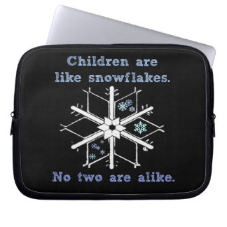 ChildrenRSnowflakes.png Computer Sleeve