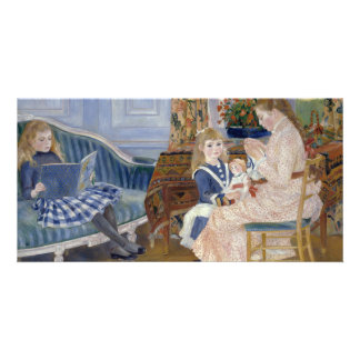 Children's Afternoon at Wargemont by Pierre Renoir Picture Card