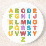 Children's Alphabet Coaster