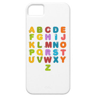 Children's Alphabet iPhone SE/5/5s Case