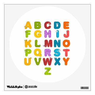 Children's Alphabet Wall Decal