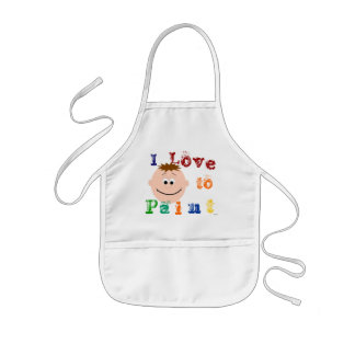 Childrens Animated Face Painting Apron