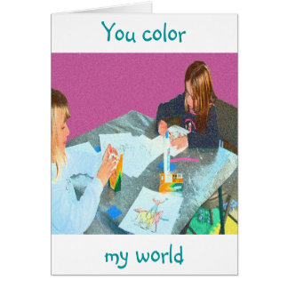 CHILDRENS ART GIFTS AND AWARDS CARD