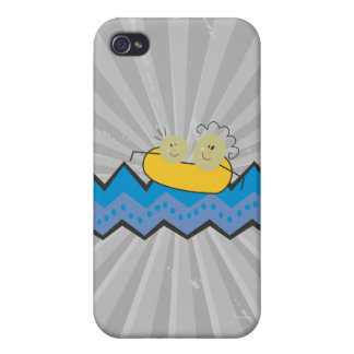 childrens art rafting drawing iPhone 4 covers