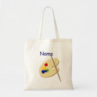 Childrens Artist Palette Canvas Bag