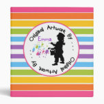 Childrens Artwork  Drawing Painting Binder