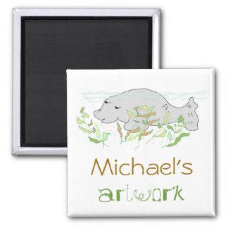 Children's Artwork Magnet