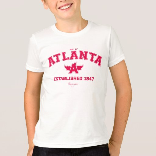 Children 39 S Atlanta T Shirt Zazzle