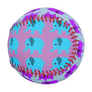 Children's Baseball - Colorful Elephant Design