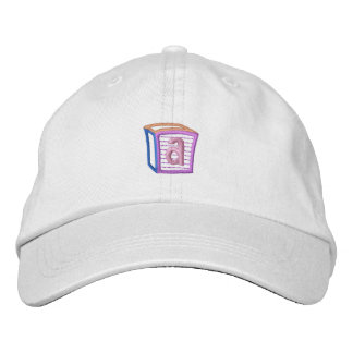 Childrens Block A Embroidered Baseball Cap