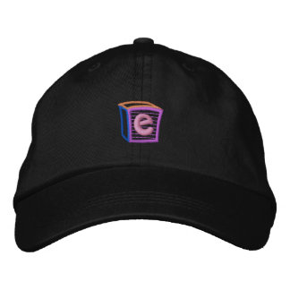Childrens Block E Embroidered Baseball Cap