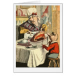 Children's book holiday feast greeting cards