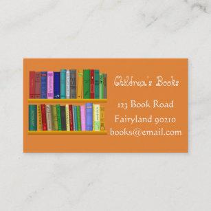 Bookshop business cards zazzle childrens books childrens bookshop business card reheart Image collections