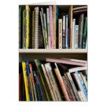 Childrens Bookshelf Greeting Card