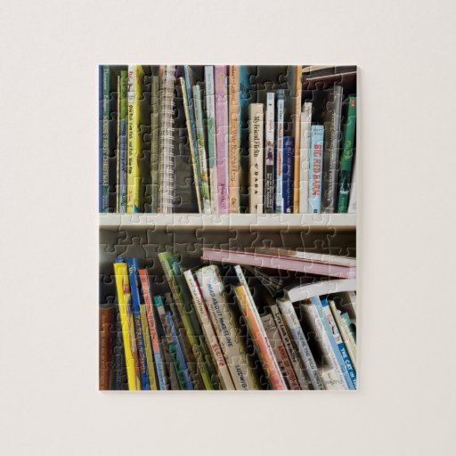Childrens Bookshelf Puzzles