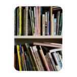 Childrens Bookshelf Rectangular Photo Magnet
