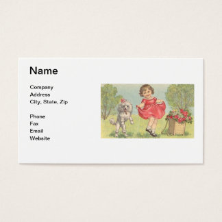 Children's Boutique Business Card