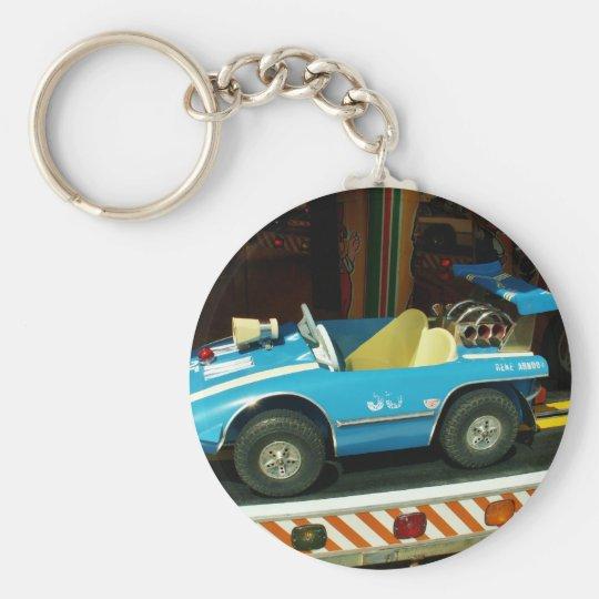 Children's Carousel Car. Keychain