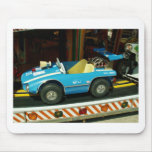 Children's Carousel Car. Mouse Pad