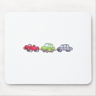 CHILDRENS CARS MOUSE PADS