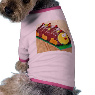 Childrens Chocolate Cake In Caterpillar Shape Pet Clothes