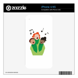 Childrens Choir Decals For The iPhone 4
