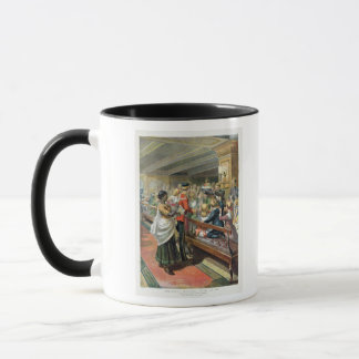 Children's Christmas Dinner at Sea Mug
