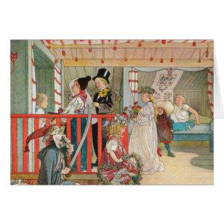 Children's Christmas Parade Greeting Card