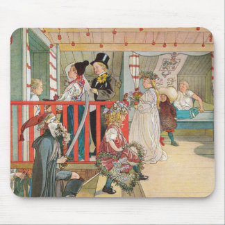Children's Christmas Parade Mouse Pad