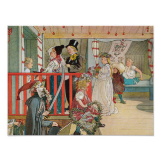 Children's Christmas Parade Print