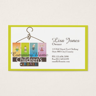 Stores that sell business cards images card design and card template resale stores business cards templates zazzle childrens clothing store business cards reheart images reheart Gallery